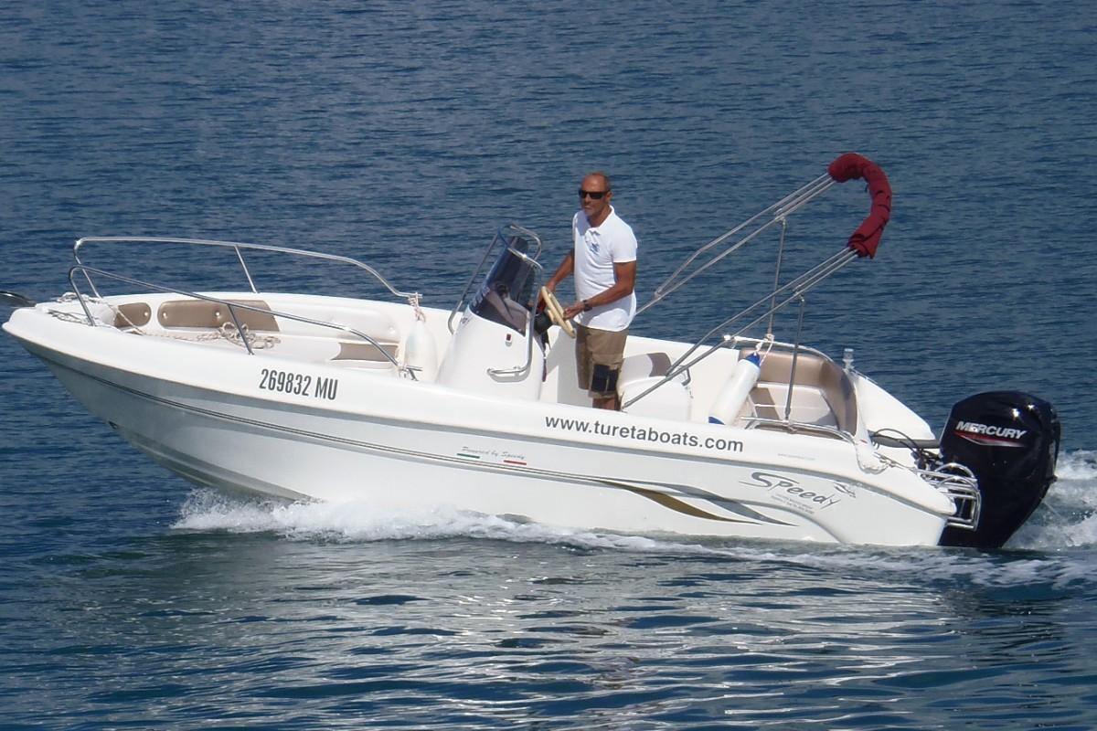 Speedy 540 Najam plovila na Murteru gl
